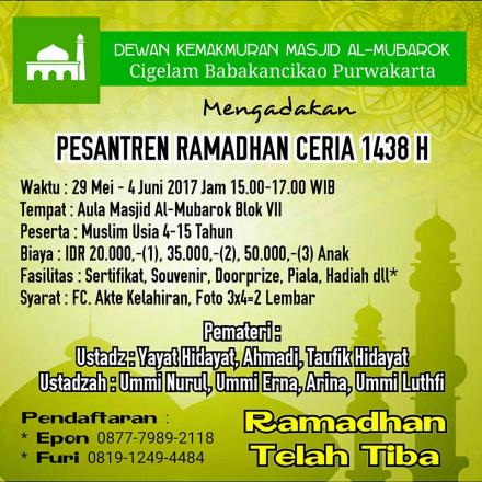 Album : Al Mubarok 1438 H